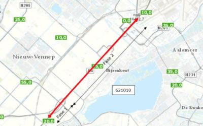 Verkeershinder A4, 7 t/m 31 mei